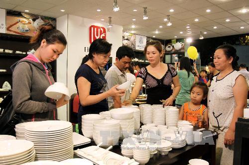 Khai mạc Hội chợ Hàng Việt Nam chất lượng cao năm 2014