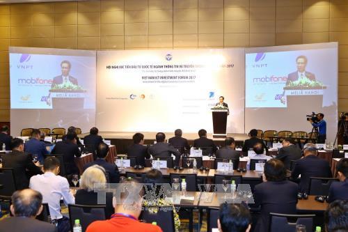 Hội nghị Xúc tiến đầu tư quốc tế ngành Thông tin và Truyền thông Việt Nam 2017
