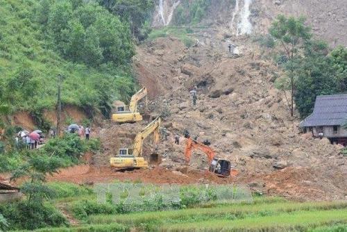 Hòa Bình: Tìm thấy thi thể 2 nạn nhân cuối cùng trong vụ sạt lở đất tại xóm Khanh