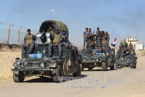 Quân đội Iraq giành quyền kiểm soát hầu hết khu vực tranh cãi với người Kurd