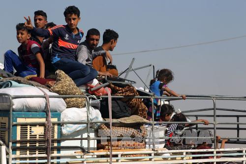 Iraq: 100.000 người Kurd rời bỏ thành phố Kirkuk