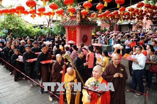 """Thành phố Hồ Chí Minh: Lễ cúng """"chuyển vận"""" của người Hoa"""