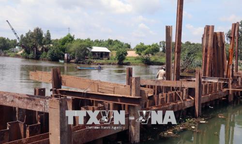 Kiên Giang: Chủ động ngăn mặn xâm nhập nội đồng