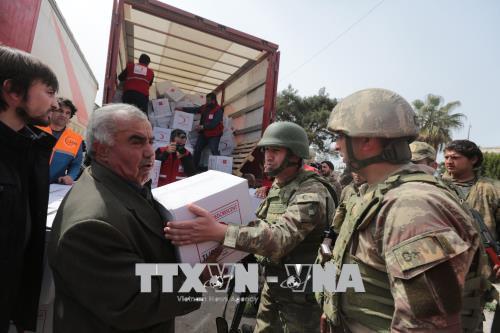 Đức quan ngại hành động quân sự của Thổ Nhĩ Kỳ tại Syria