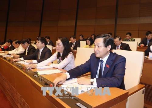Bế mạc Kỳ họp thứ năm, Quốc hội khóa XIV