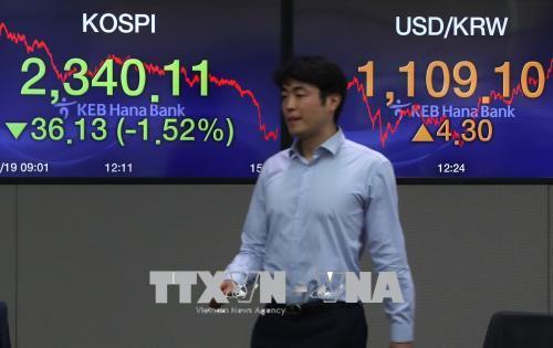 Chứng khoán châu Á diễn biến trái chiều