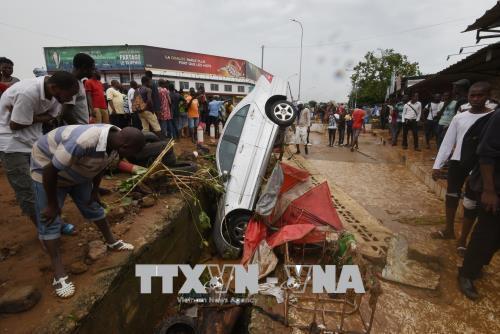 Lũ lụt khiến hàng chục người thiệt mạng tại Côte d'Ivoire